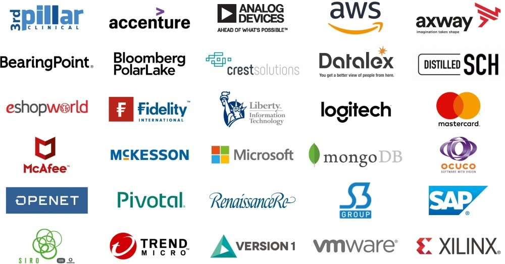 Some of our Women ReBOOT partner companies