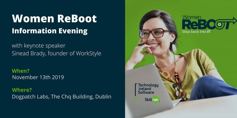 Women ReBOOT information evening